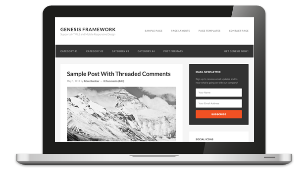wordpress genesis theme