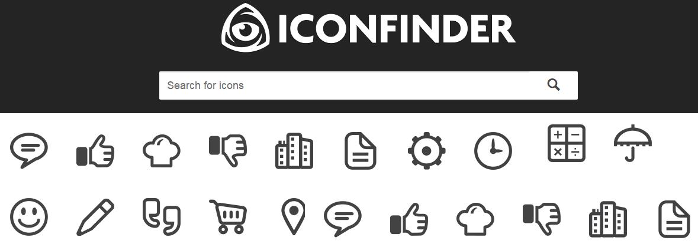 Iconfinder image Site