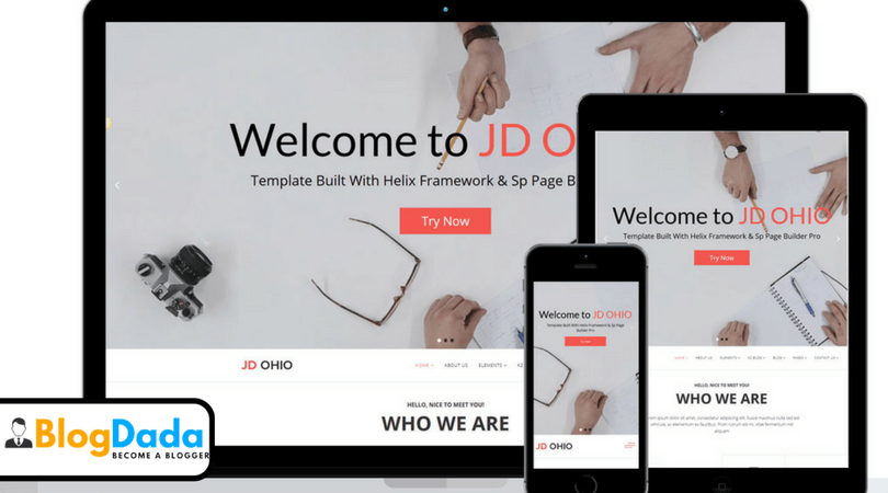JD OHIO Joomla Template