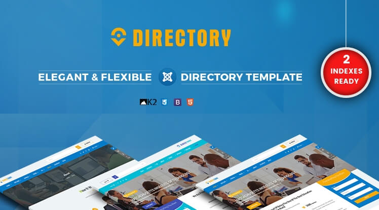 SJ Directory Pro- Business Joomla Template