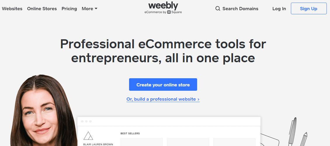 Best Blogging Platforms weebly