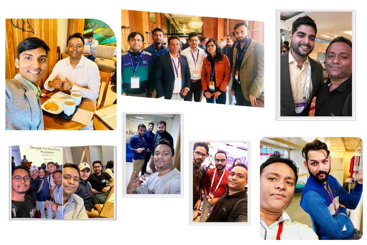 Pavitra Kumar Photo with Bloggers