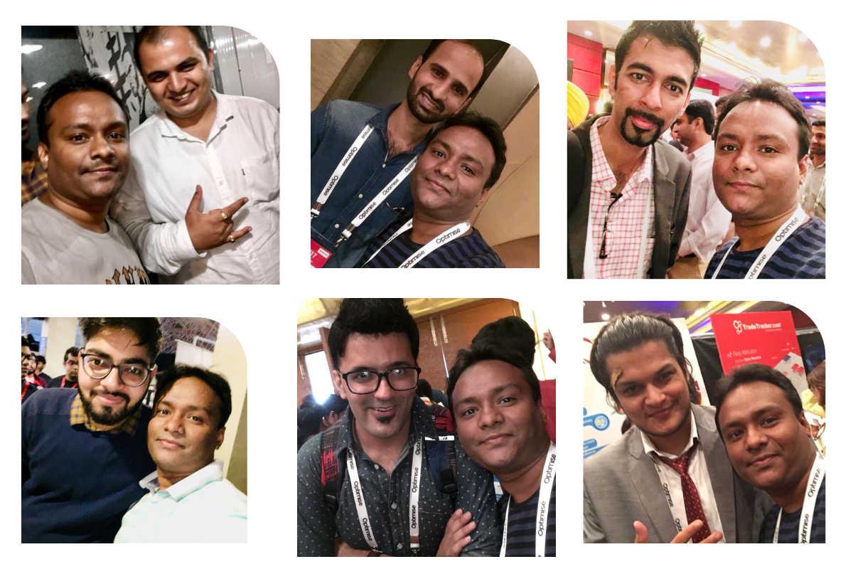 Pavitra Kumar Photos with Bloggers