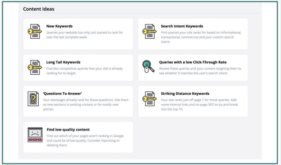 SEOTesting Tool Content Ideas