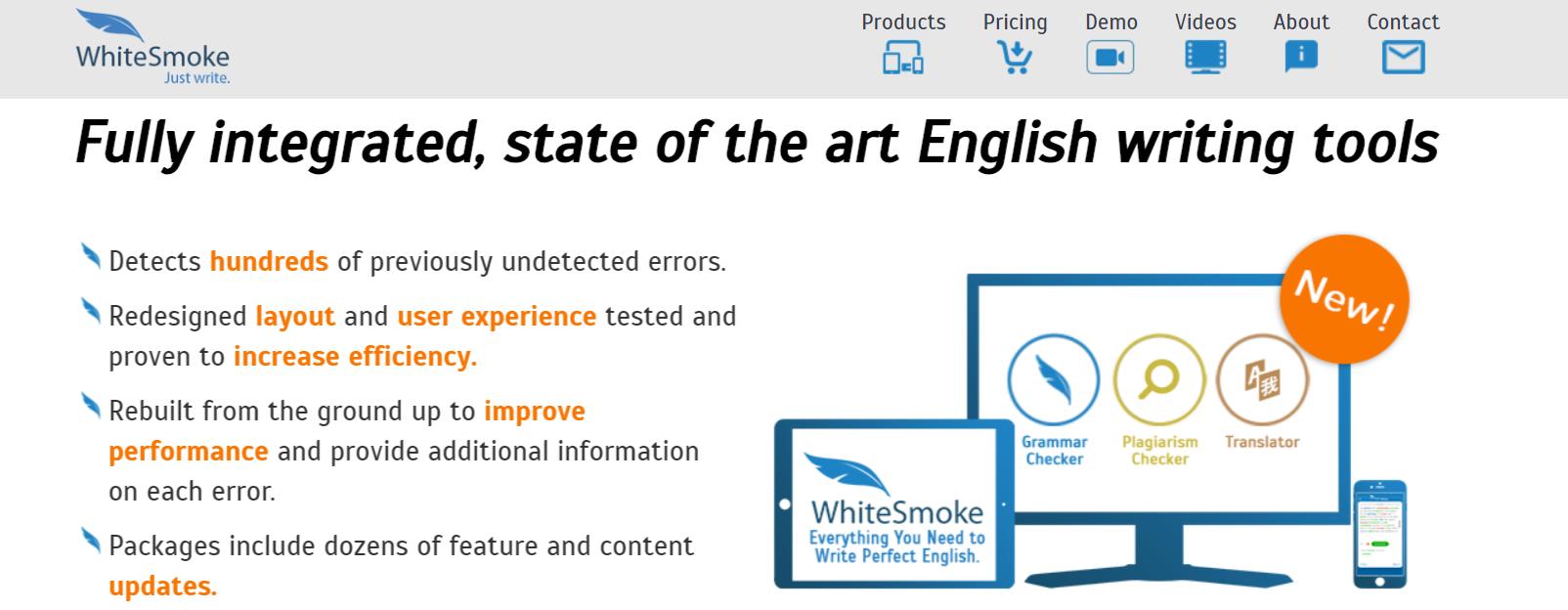 WhiteSmoke Writing Tools