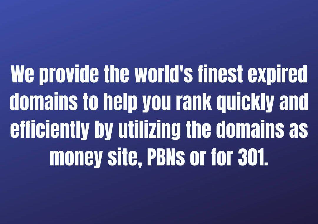 Buy Expired Domain
