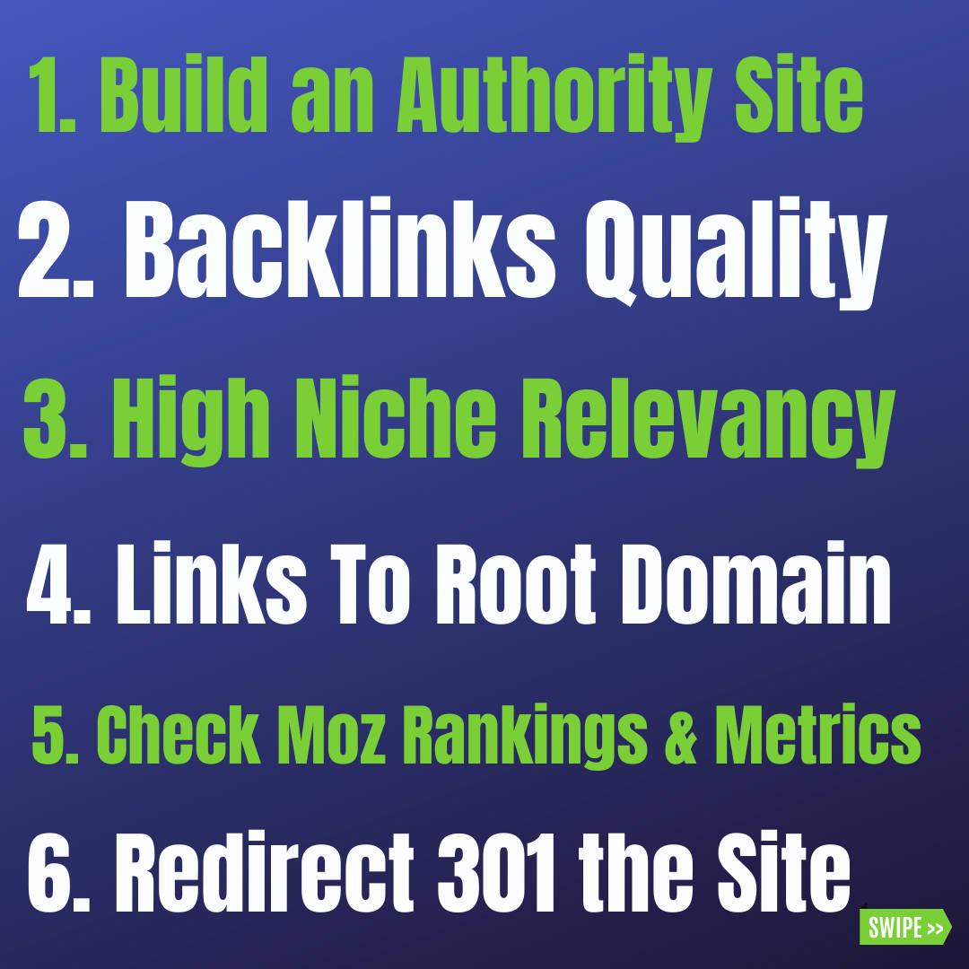 expired domain tips